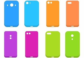 Free Phone Case Vector - Free vector #401433