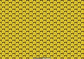 Free Gold Sequin Vector Seamless Pattern - vector gratuit #401563