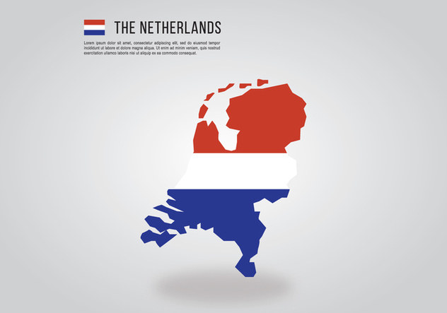 Netherlands Country - vector gratuit #401833