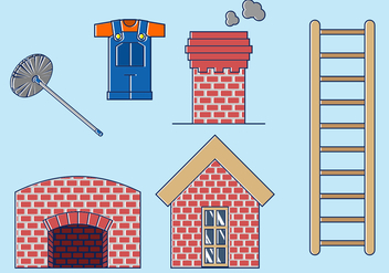 Chimney Sweep Free Vector - vector gratuit #402383