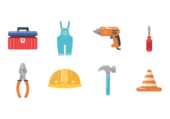 Free Worker Icons - vector gratuit #402463