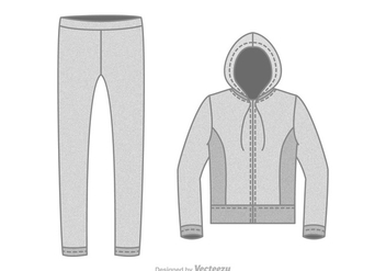 Free Tracksuit Vector Illustration - бесплатный vector #402543