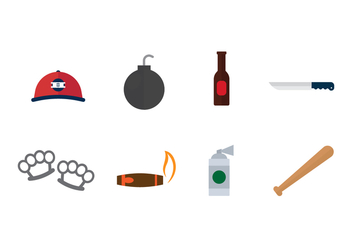 Free Hooligans Icons - Free vector #402703