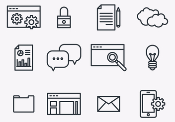 Seo Icons - Free vector #402733