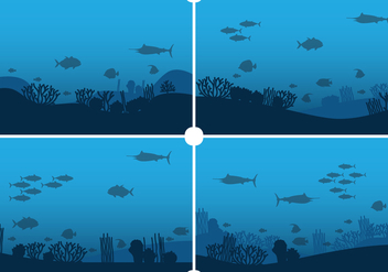 Seabed Background - Kostenloses vector #402783