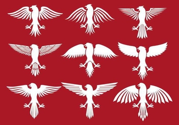Polish Eagle Icons - vector #403063 gratis