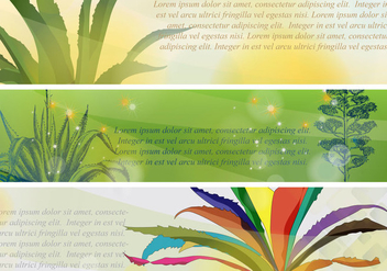 Banners Maguey - Free vector #403213