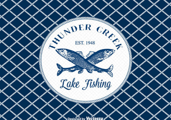 Free Fishing Vector Background - Free vector #403693