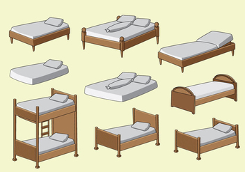 Free Mattress Vector - vector gratuit #403763