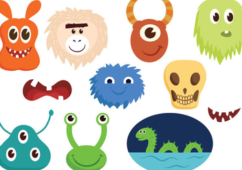 Free Monsters Vectors - vector gratuit #403803