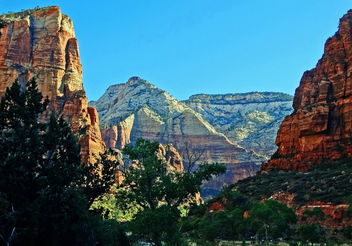 First Light in Zion Valley 2014 - Free image #403863