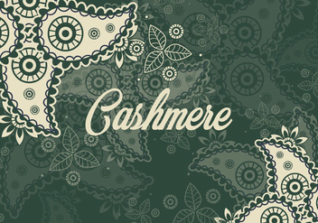 Ornament Of Cashmere Seamless Pattern - Free vector #404093