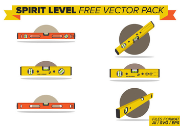 Spirit Level Free Vector Pack - vector #404363 gratis