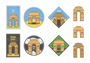 Free India Gate Vector - vector #404463 gratis