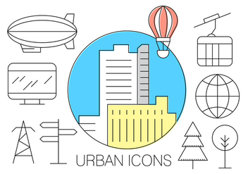 Free Urban Icons - Free vector #404633