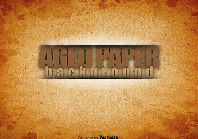 High Quality Old Paper Vector Background - Free vector #404953