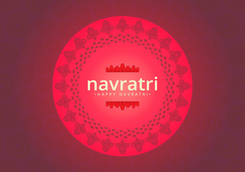 Navratri Big Sale Illustration - vector gratuit #405053