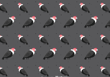Condor Bird Seamless Pattern - vector gratuit #405143