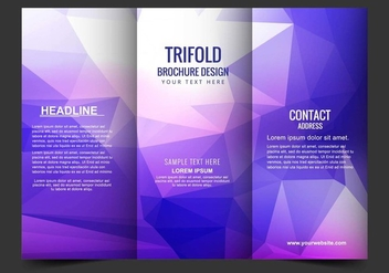 Free Vector Tri Fold Brochure - Free vector #405183