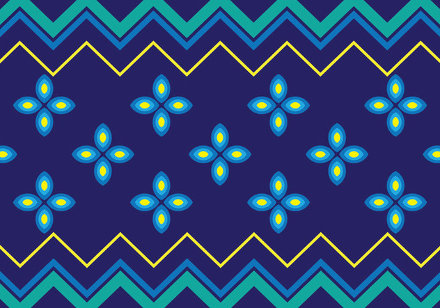 Traditional Songket - vector #405243 gratis