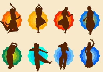 Free Bollywood Dance Vector - Free vector #406153