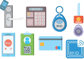 Free RFID Vector - Free vector #406283