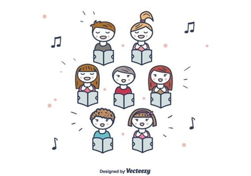 Choir Vector - vector gratuit #406373