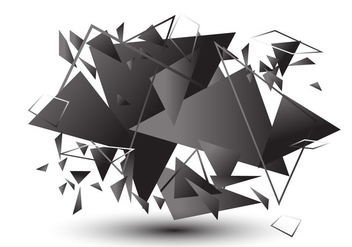 Vector Broken Glass Effect - Free vector #406493