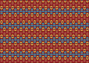 Pattern Of Indonesian Songket Illustration 2 - бесплатный vector #406523