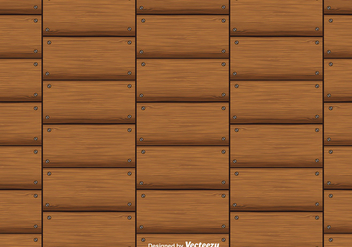 Hardwood Planks Vector Background Seamless Pattern - vector gratuit #406603