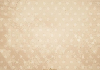 Dirty Grunge Polka Dot Background - Free vector #406653