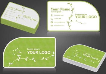 Free Namecard Illustration - Free vector #407113