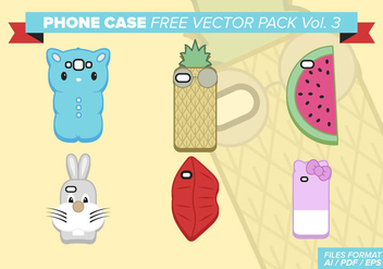 Phone Case Free Vector Pack Vol. 3 - Kostenloses vector #407143