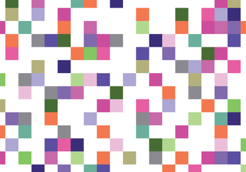 Colorful Square Pattern - vector gratuit #407203