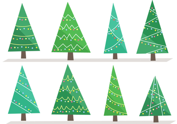 Free Christmas Tree Vector - бесплатный vector #407273