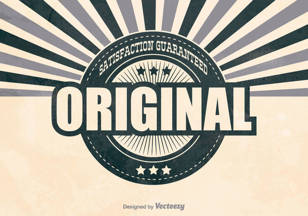 Retro Original Promotional Background - Free vector #407303