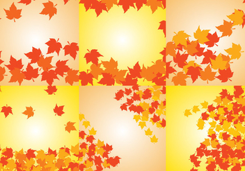 Fall Background Vector - vector gratuit #407323