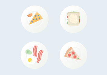 Food Vector Icons - Kostenloses vector #407413