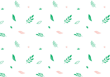 Leaf Vector Pattern - Free vector #407423