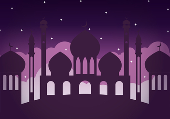 Free Arabian Nights Illustration - vector gratuit #407543