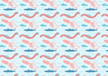 Free Ocean Animals Vector - бесплатный vector #407673
