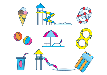 Free Water Park Vector - Free vector #407793