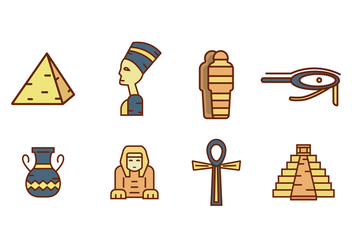 Free Ancient Egypt Vector - vector gratuit #408273