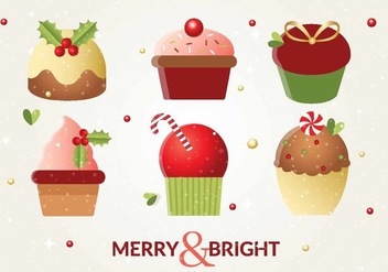Free Vector Christmas Cakes - Free vector #408503