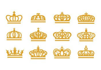 British Crown Vector - vector #408533 gratis