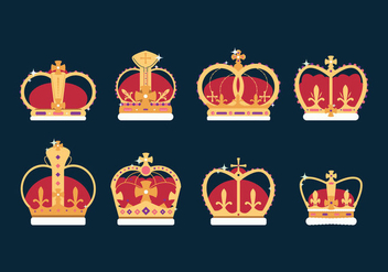 Free British Crown Vector - vector gratuit #408603