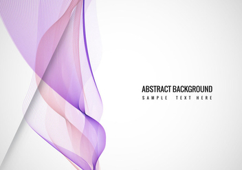 Free Vector Wavy Background - Free vector #408633