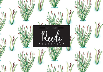 Free Reeds Pattern - Free vector #408743