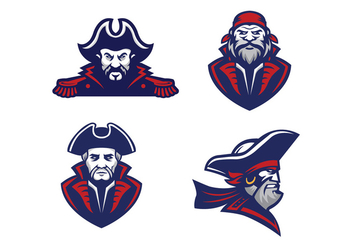 Free Pirate Vector - Free vector #408893