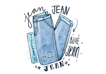 Free Blue Jean - Free vector #409013